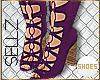 §Kylie Knee Boot|Violet