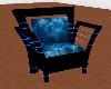 Crystal Blue & Black