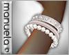  M  Pearls Bangle