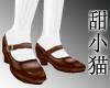TXM School Shoes Brown
