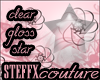 *Sc* Glossy Clear Star