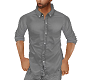 Grey UnTucked Shirt