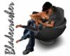 [BW]Black Love Chair1