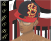 *101* BLK N RED FITTED