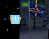 ICELANDIC FLAG animed