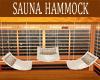 SAUNA  3  HAMMOCK