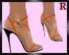 Sandals Orange Peel