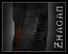 [Z] Necrom. Pants red