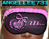 SLEEP MASK PINK GRAY