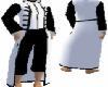 Black&White Long Coat