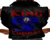 King Cobras Leather Vest