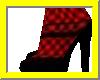 KV2 Shoes- Red/black