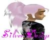 [SW]Pink White Pony Tail