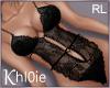 K black lingerie RL