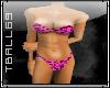 Leopard Pink Bikini