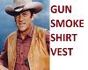 Gunsmoke trigger shirt
