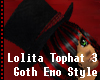 ~LOUIZE~ Black Top Hat 1