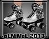 Rollerboots Gray 'n' Blk