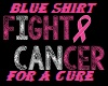 FIGHT/4/A/CURE/BLU/SHIRT