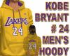 KOBE BRYANT #24 HOODY