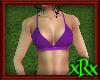 Bikini Top Purple