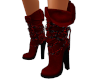 Mik Red Fashion Boots