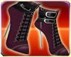 Purple Dress Boots