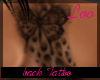 Butterfly/Cheetah Tattoo
