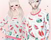 Fruit Sweater Couple / M