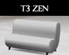 T3 Zen Purity Euro Couch