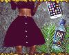 ღ Button Up Midi | RL