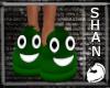 Green Poo Shoe