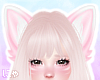 N' Cute Pink Fox Ears V2
