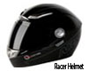 Racer Helmet Black