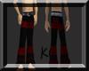 goth halloween pants