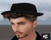 *KC* Black Hat+Hair (BR)