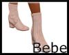 Beige Suede Boots