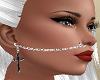 Nose Chain n Cross