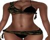 Aina-Blk/Gld Bikini