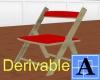 [A07-D] Folding Chair