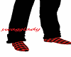 Mens Red Checker Shoes