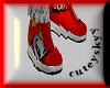 Ecko red sneakers