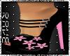 Black flower Pink Bloom