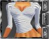 Striped Top Grey