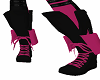 desired pink shoes