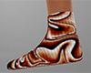 Halloween Swirl Sock 12F