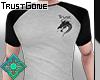 b&w Trust t-shirt