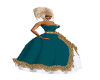 LS Teal Gown