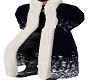 Blue Christmas Robe