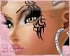 B. Tribal Eye Tattoo